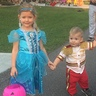 Photo #1 - My daughter and son as Cinderella and Prince Charming on Halloween 2015.