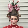 Photo #5 - Cindy Lou Who hair front