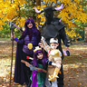 Photo #1 - Clash of Clans raiding party (Barbarian King, Archer Queen, Witch (with skeletons) and P.E.K.K.A.