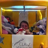 Photo #2 - This is me I'm the claw machine.
