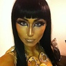 Photo #3 - Gold makeup, done by myself
