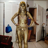Photo #1 - Cleopatra Golden Statue