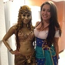 Photo #3 - Cleopatra Golden Statue