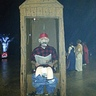 Photo #2 - Cletus in an Outhouse