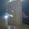 Photo #3 - Cletus in an Outhouse