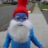 Photo #1 - Close up of Papa smurf