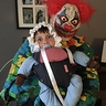 Photo #2 - Clown kidnapping baby