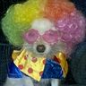 Photo #1 - Clown Dog Costume