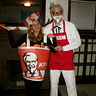 Photo #1 - Colonel Sanders and Bucket of Fried Chicken