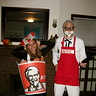 Photo #2 - Colonel Sanders and Bucket of Fried Chicken