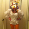 Photo #3 - Homemade 'chick'en costume