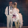 Photo #1 - Colonel Sanders gets a peck on the cheek