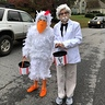 Photo #1 - Colonel Sanders and His Chicken
