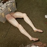 Photo #5 - Put pantyhose on legs
