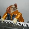 Photo #7 - Lilu playing her keyboard