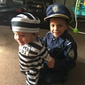 Photo #1 - Dynamic Duo! Cop and Prisoner !