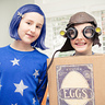 Photo #2 - Alison as Coraline and her brother, Brandon, as Eggs from the Boxtrolls