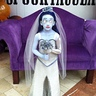 Photo #1 - Eyes closed Corpse Bride