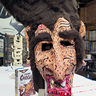 Photo #2 - Count Chocula Paper Mache Mask Front Detail