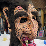 Photo #3 - Count Chocula Paper Mache Mask 3/4 Detail