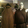 Photo #1 - Cousin Itt & Uncle Fester with Thing