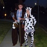 Photo #1 - Cowboy and Girl Cow