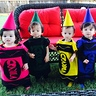 Photo #3 - Quintuplets in Crayola