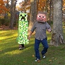 Photo #2 - Creeper  chasing Steve!!!