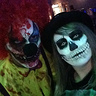 Photo #1 - Creepy Clown & Scary Skeleton
