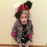 Photo #3 - Talyia Dressed as Cruella De Vil