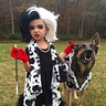 Photo #2 - Cruella de Vil and her Terrified Dalmatian