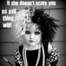 Photo #1 - If she doesn't scare you, no EVIL thing will!
