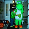 Photo #3 - Dad and Son as Yoshi's Halloween night