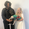 Photo #1 - Jon Snow, Dragon dog, and Daenerys
