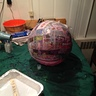 Photo #7 - Dome after Paper Mache construction