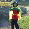 Photo #2 - Damian Wayne Robin preparing for battle