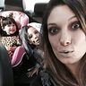 Photo #3 - Zombie mom, zombie bride and a fuzzy leopard headed out to a Halloween party!