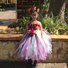 Photo #2 - Day of the Dead Wedding Flower Girl