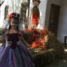 Photo #4 - Day of the Dead Wedding Flower Girl
