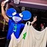 Photo #1 - Deadmau5 and the ghost from the music video