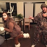 Photo #2 - Deer and Hunter