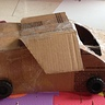 Photo #5 - Delorean put together with packing tape.