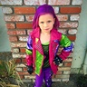 Photo #1 - Maizie Joe as Mal from Descendants