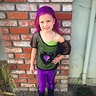 Photo #2 - Maizie Joe as Mal from Descendants