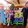 Photo #2 - Dinner at Fiesta Linda Restaurant, in costume! Despicable!!!