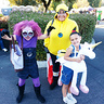 Photo #1 - Agnes, Stuart, and Kevin as the evil purple minion