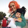 Photo #5 - agent Lucy and Agnes with her fluffy unicorn