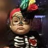 Photo #6 - Baby Dia de los muertos sugar skull