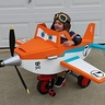 Photo #1 - Dusty Crophopper tricycle-mounted airplane costume - 1