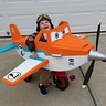 Photo #2 - Dusty Crophopper tricycle-mounted airplane costume - 2